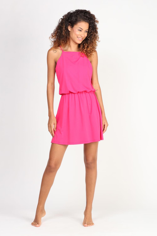 Vestido Píer de Alcinha rosa